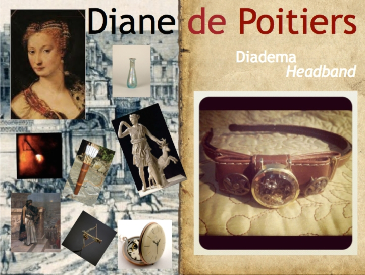Diadema de Diana de Poitiers Diane de Poitiers's Headband