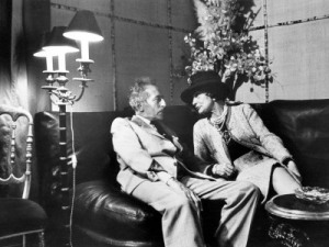 Jean Cocteau and Coco Chanel. (C) Luc Fournol