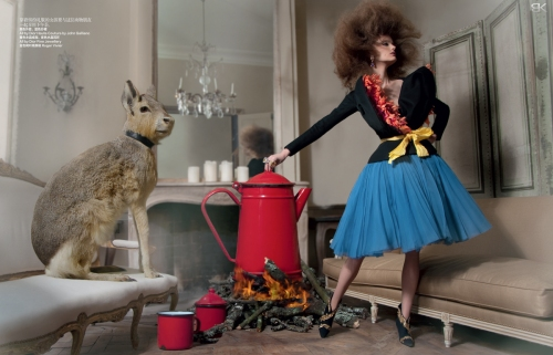 4- 2011: Dior Haute Couture by John Galliano FW 2010-2011 © Benjamin Kanarek Blog, Harper's Bazaar