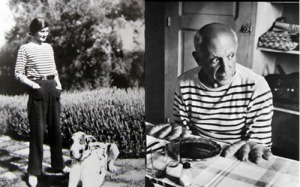 Picasso and Chanel with Breton top