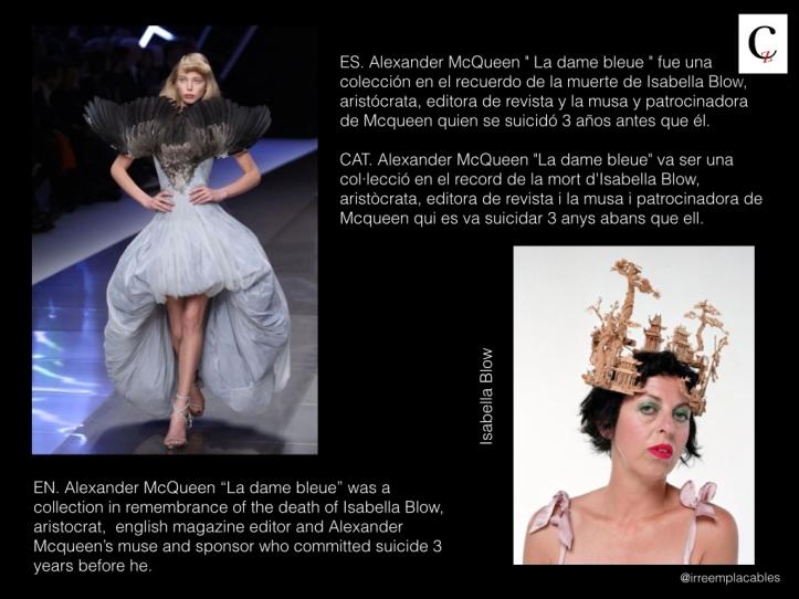 Alexander McQueen. Isabella Blow