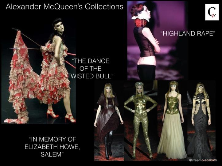 Alexander McQueen's Collections
