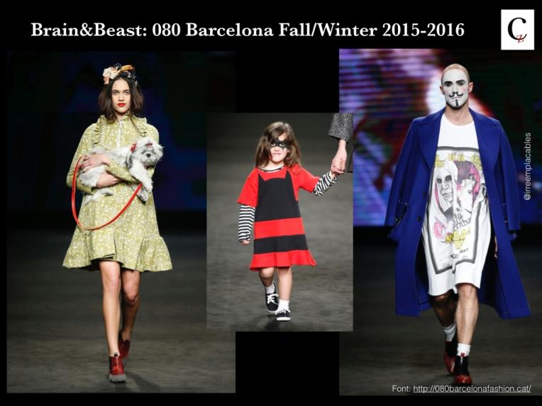Brain&Beast: 080 Barcelona Fall/Winter 2015-2016