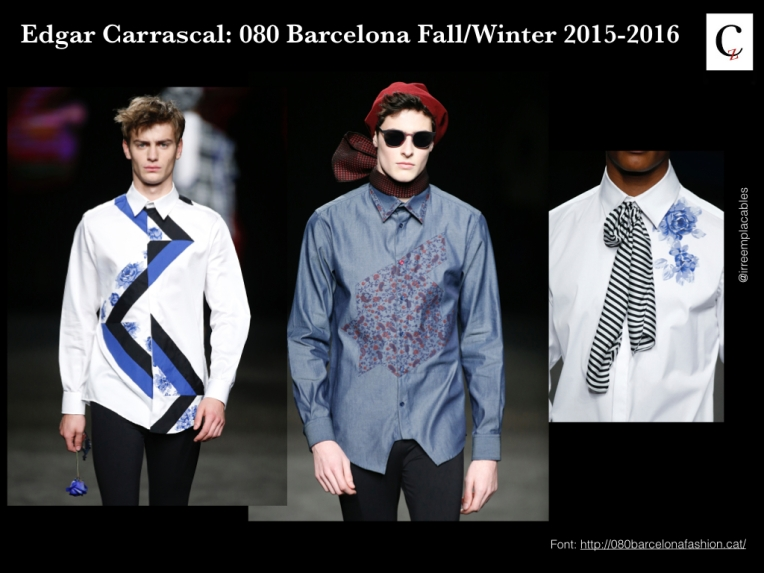Edgar Carrascal: 080 Barcelona Fall/Winter 2015-2016