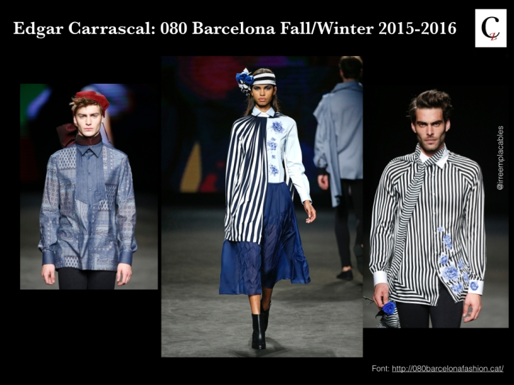 Edgar Carrasco. Blue Rose 080 Fashion Week