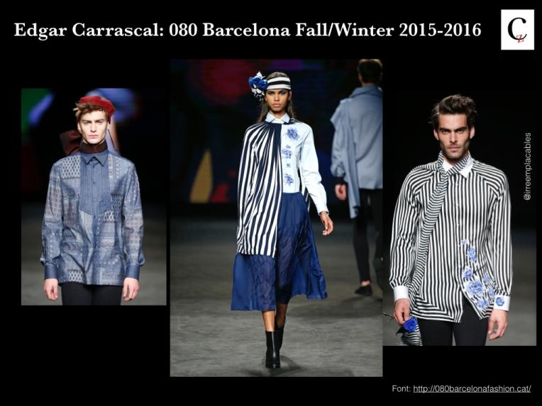 Edgar Carrasco. Blue Rose 080 Fashion Week
