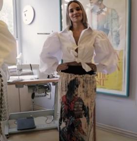 Foto extraída del video de la Fashion Week de México
